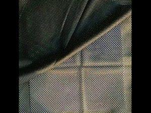 160gsm полиэфирная основа вязаная сетчатая ткань для военного жилета