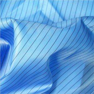 5 мм полосатая саржа полиэфирная антистатическая тканая ткань для антистатической одежды