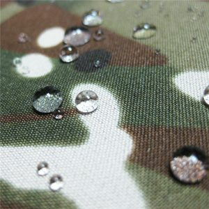 тефлон 100% полиэстер тканые водонепроницаемые наружные военные камуфляж дождь куртка ткань