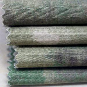 Антистатическая военная печать Ripstop Хлопковая ткань для армейской одежды