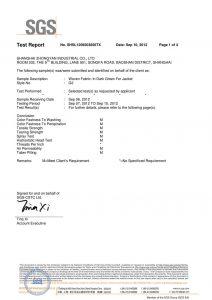 Тканая ткань в темно-зеленом цвете для сертификатов SGS