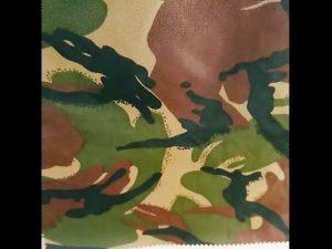 камуфляж печать водонепроницаемый Ripstop нейлон Оксфорд единой военной ткани